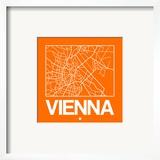 Orange Map of Vienna