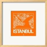 Orange Map of Istanbul