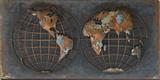 Hemispheres - Dimensional Metal Wall Art