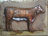 Prime Cuts of Beef - Dimensional Metal Wall Art