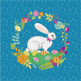 Bunny Wreath I