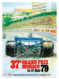 37th Grand Prix Monaco 1979 - Formula One Auto Racing