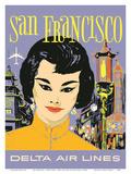 San Francisco - China Town - Delta Air Lines