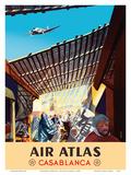 Casablanca  Morocco - Air Atlas