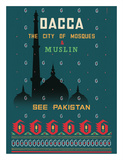 Dhaka (Dacca) - The City of Mosques & Muslin