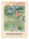 Normandy  France - SNCF (French National Railway Company)