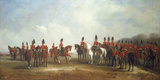 A Review of the 16th (The Queen's) Light Dragoons  1851