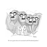 """""""It's not a great time to be associated with Presidential politics"""" - Cartoon"""