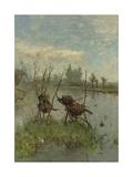 Ducks' Nests  by Paul Joseph Constantin Gabriel  C 1890-1900