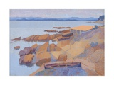 Coast Near Antibes  1891-92