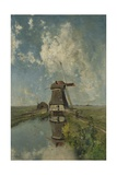 A Windmill on a Polder Waterway  C 1889