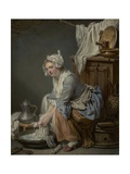 The Laundress  1761