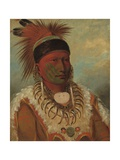 The White Cloud  Head Chief of the Ioways  1844-45