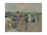 The Races at Longchamp  1891