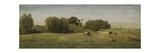 Landscape Near Abcoude  by Paul Joseph Constantin Gabriel  1860-70