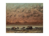 The Black Rocks at Trouville  1865-66