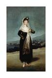 Portrait of the Marquesa De Santiago  1804