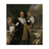 Aert Van Nes  Dutch Vice Admiral and Ludolf Bakhuyse  C 1668