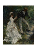 La Promenade  1870