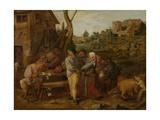 Peasant Brawl  1620-30