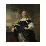 Geertruida Den Dubbelde  Wife of Aert Van Nes  1668