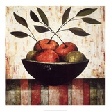 Fruit Bowl on Silk