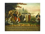 Penn's Treaty with the Indians  1840-44