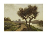 Landscape with Two Trees  1860-67