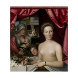 A Lady in Her Bath  1571