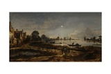 River View by Moonlight  1640-50