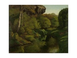 View in the Forest of Fontainebleau  1855