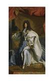 Portrait of Louis XIV  1701