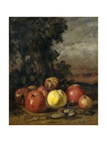 Still Life with Apples  1871-72