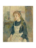 Young Girl with an Apron  1891