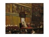 Pope Pius VII in the Sistine Chapel