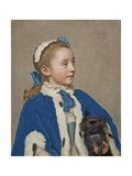 Maria Frederike Van Reede-Athlone at Seven Years of Age  1755-56