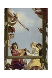 Musical Group on a Balcony  1622