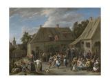 Peasant Kermis  C 1665