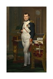 Emperor Napoleon in His Study at the Tuileries  1812