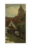 The Tower of Gorkum  C 1880-1908