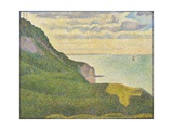 Seascape at Port-En-Bessin  Normandy  1888