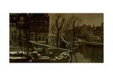 Winter in Amsterdam  C 1900-01