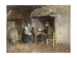 Lunch in a Farmer's Famil  1895
