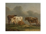Four Cows in a Meadow  1651