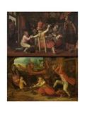 The Peasant's Sorrow'  and 'The Peasant's Joy'  C 1620