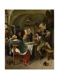 Family Scene  1660-79
