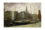 The Damrak  Amsterdam  1903