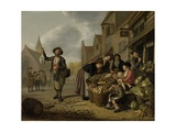 The Greengrocer's Shop De Buyskool  1654