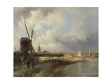 View of the Hague  C 1850-52
