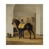 Adriaan Van Der Hoop'S Trotter 'De Rot' at Coach House  1828